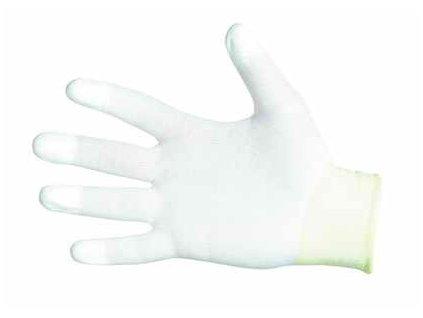 Nylonové rukavice s polyuretanovou vrstvou velikost 6