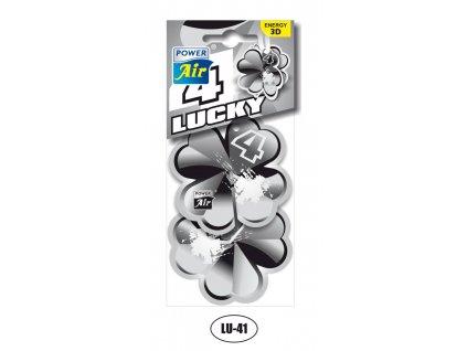 3D papírový osvěžovač LUCKY 4 ENERGY POWER AIR LU-41