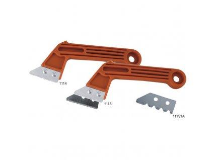 Břit 50 mm zubatý do odstaňovače zbytků malty DEDRA 11151A
