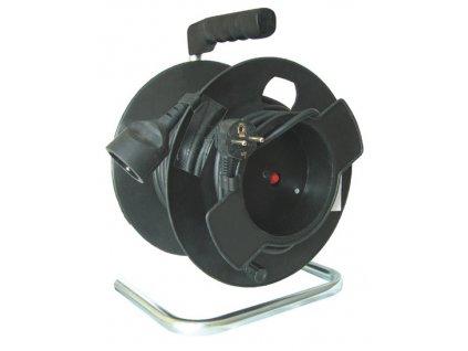 Prodlužovací kabel na bubnu 35m,  1x zásuvka Solight PB14