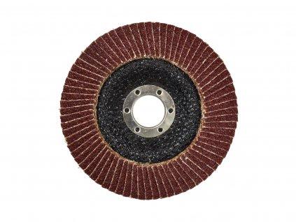 Brusný lamelový kotouč (korund) - 125x22,23 mm / P40 GEKO nářadí G00303