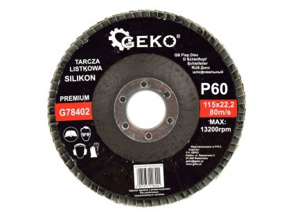 Brusný lamelový kotouč (karbid křemíku) - 115x22,23 mm / P60
