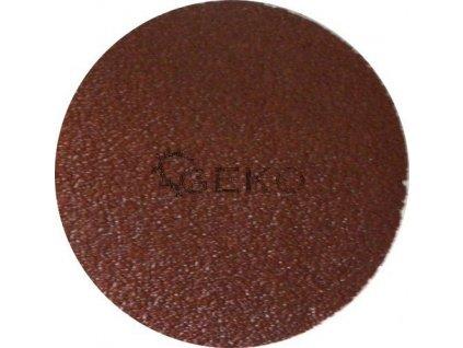 Brusný papírový výsek nalepovací (korund) - 125 mm / P40 GEKO nářadí G78602
