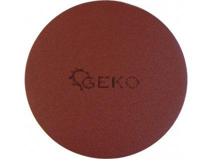 Brusný papírový výsek se suchým zipem (korund) - 225 mm / P180 GEKO nářadí G78694