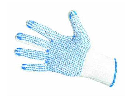 Rukavice s terčíky v dlani, velikost 9 CERVA GROUP a. s. PLOVER09