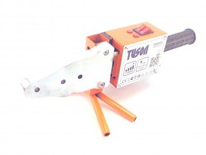 Polyfúzní svářečka 750/1500W TUSON POLY01  + plechový kufr s příslušenstvím