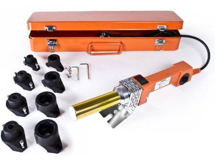 Polyfúzní svářečka Tuson 800/1000W kopyta 16,20,25,32mm  + plechový kufřík