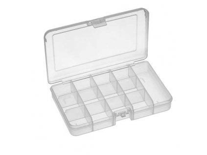 Plastový organizér 165x112x31 mm, 13 přihrádek