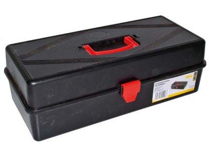 Plastový kufr na nářadí; 400x180x132 mm
