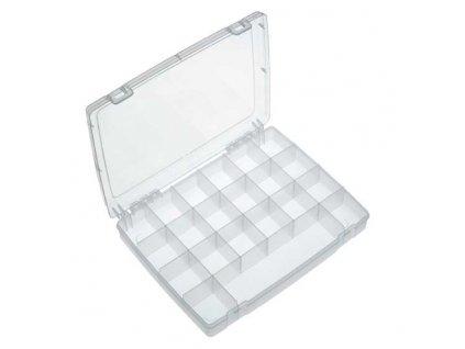 Plastový organizér  325x255x52mm, 21 přihrádek