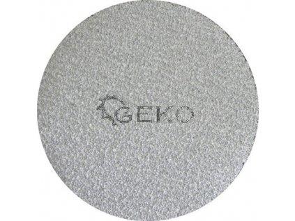Brusný papírový výsek se suchým zipem (zirkon) - 125 mm / P80 GEKO nářadí G78523