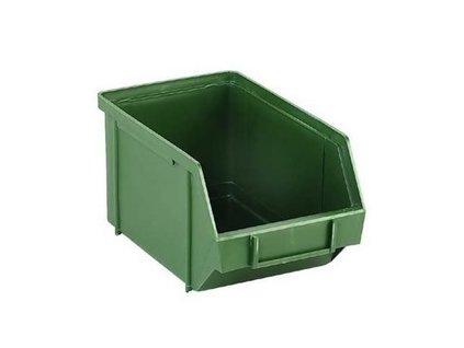 Zásobník na spojovací materiál 148x247x128mm - zelený