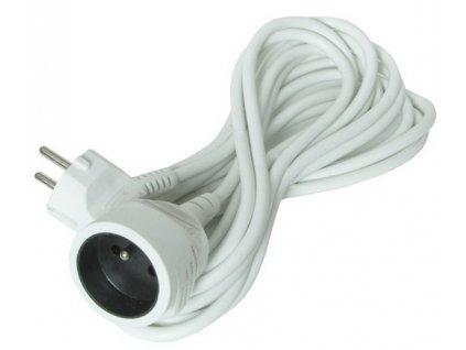 Prodlužovací kabel 10m - bílý Solight PS16