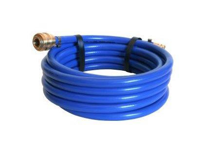 Vzduchová hadice 16BAR 6x12 mm vnitřní/vnější průměr - 5m včetně spojek