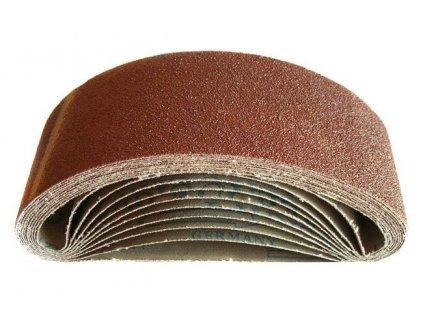 Nekonečný brusný pás do pásové brusky (korund) - 75x457 mm / P100 GEKO nářadí G00355