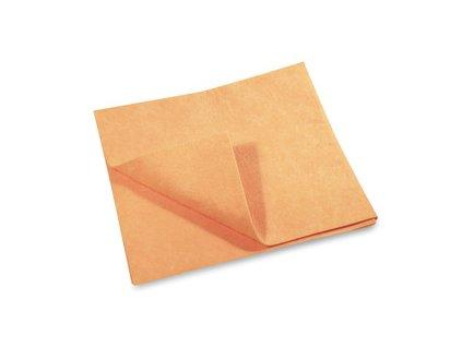 Utěrka/hadr na podlahu oranžový 50x60cm, 160g - nebalený