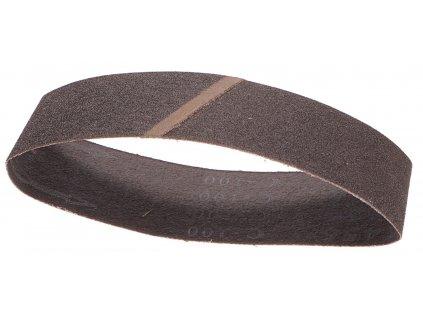 Nekonečný brusný pás do pásové brusky (karbid křemíku) - 75x457mm / P100 GEKO nářadí G78455