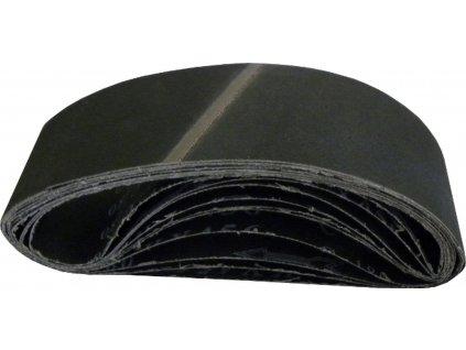 Nekonečný brusný pás do pásové brusky (karbid křemíku) - 75x457mm / P120 GEKO nářadí G78456