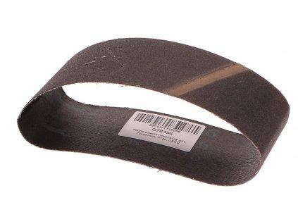 Nekonečný brusný pás do pásové brusky (karbid křemíku) - 75x457 mm / P180