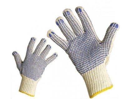 Bezešvé pletené rukavice velikost 8 CERVA GROUP a. s. QUAIL08