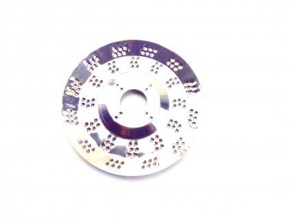 Rotační rašple 115mm do úhlových brusek, tloušťka kotouče 0,5mm
