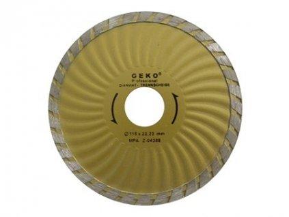 Diamantový řezný kotouč (TURBO PLUS) - 115 x 22,23 mm