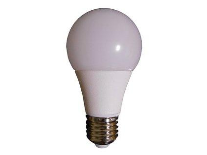 LED žárovka,  závit E27 -- ekvivalent 30W, 560lm, WW 2700K