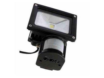 LED reflektor MCOB LED 20W s pohybovým senzorem starLED SLMCOB20S