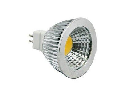 LED bodová žárovka, závit MR16, 5W,COB