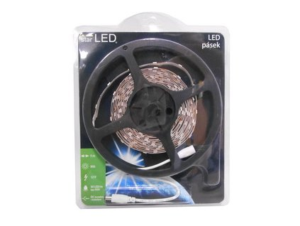 LED pásek 5m, 30LED/m, 5050, bílá starLED SLPASA3