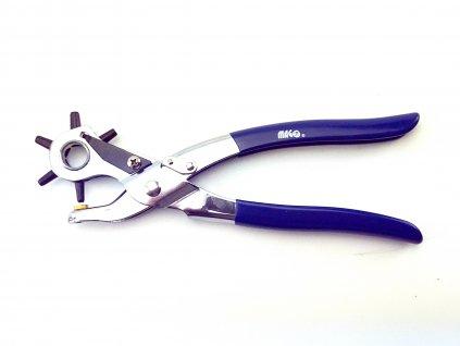 Děrovací kleště 220 mm, do kůže, PVC, těsnící papír, tvrdé lepenky MAGG SM009