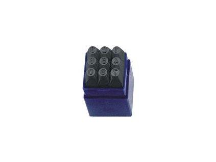 Raznice číslic 9ks 6mm SLOVAKIA Trend ST12306