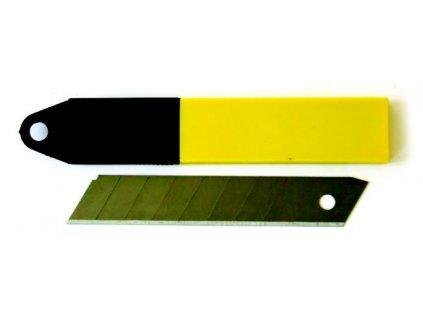 Náhradní čepel do odlamovacího nože 18 mm - balení 10 ks