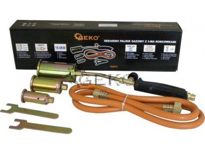 Plynový hořák opalovací s hadicí  - (25, 35, 50mm)