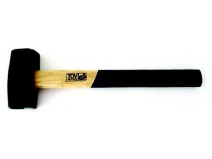 Palice s dřevěnou rukojetí 1250g MAGG TL4211250