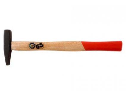 Zámečnické kladivo s dřevěnou rukojetí 100g