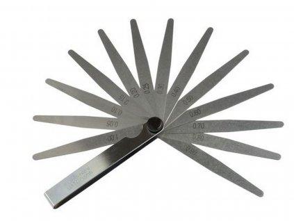 Spárové měrky 13 plátků 0,05-1mm GEKO nářadí G02738