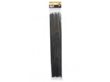 Stahovací pásky 4,8x500mm černé/25ks MAGG TS48500C