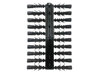 Hmoždinka univerzální UPP 8x40 sada 2x10 ks černá
