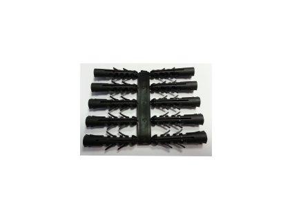 Hmoždinka univerzální UPP 10x50 sada 1x10 ks černá