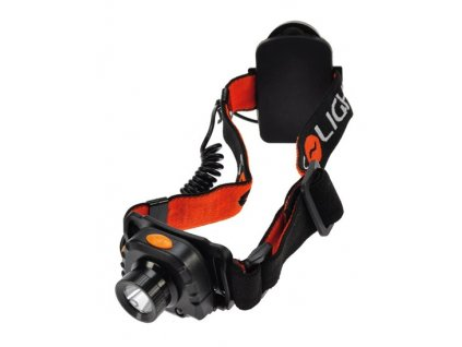 Čelová LED svítilna se senzorem, 3W Cree, černá, 3 x AAA Solight WH20