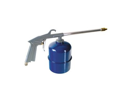 Mycí pistole, spodní kovová nádobka