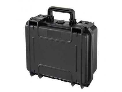 MAX Plastový kufr, 336x300xH 148mm, IP 67  + čtvercovaná pěna ve spodní části pro individuální úpravu