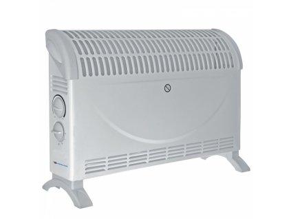 Elektrický přímotop - teplomet s ventilátorem 2000W Turbo  + termostat a vestavěný ventilátor