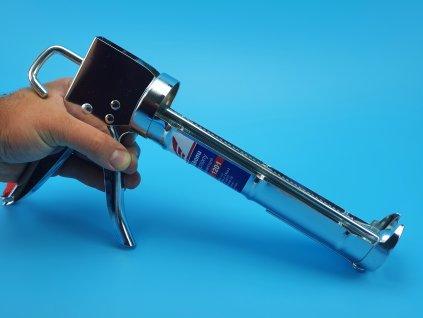 Vytlačovací pistole na silikon zesílená