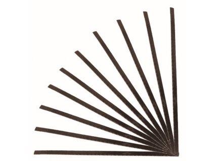 Plátky 125 mm do dřeva do lupínkové pilky #1222 - balení 10 ks DEDRA 1202