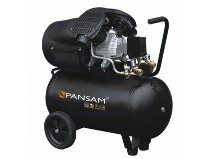 Půjčovna - Vzduchový kompresor olejový 2 válce 2,3 kW, 50 l, 8 bar