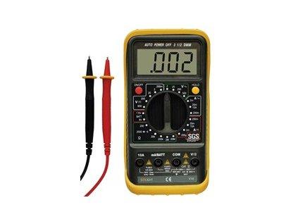 Půjčovna - Multimetr, test diody, test baterie, ochrana proti přetížení, bzučák