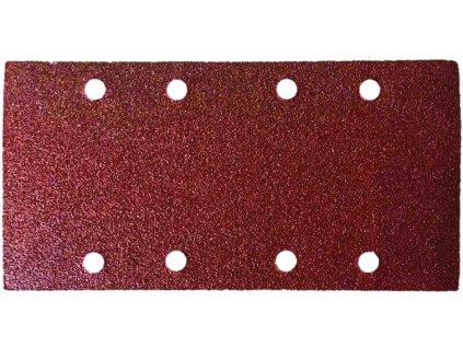 Brusné papíry do vibrační brusky 90 x 182 mm / P 100 - sada 5ks DEDRA DED79433