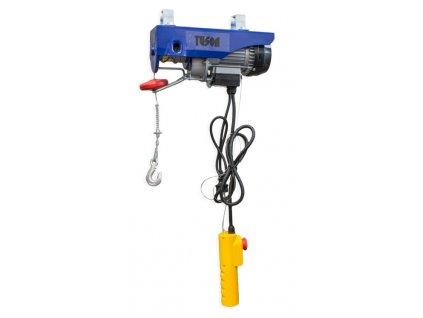 Elektrický lanový naviják 500 W 125/250 kg